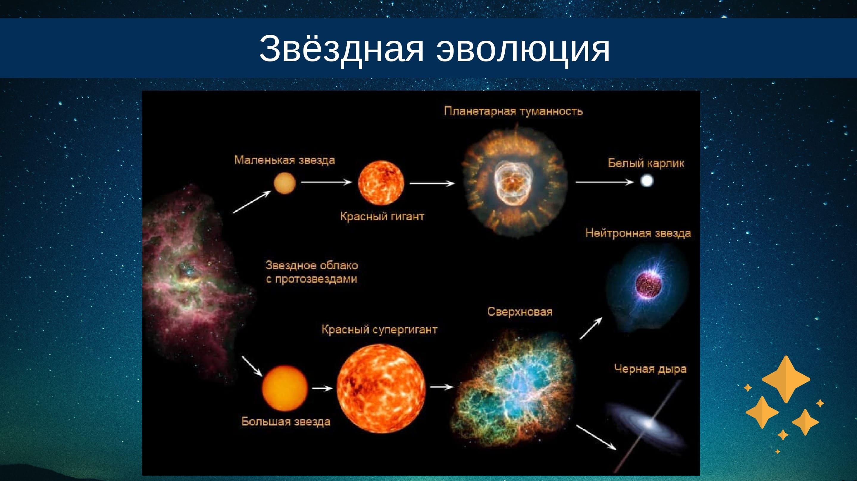 Звёздная эволюция