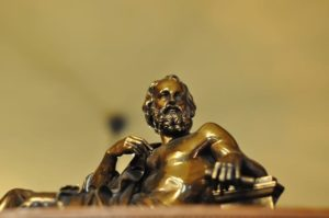 бронза платон ученый