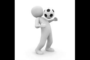 спорт человечек мяч