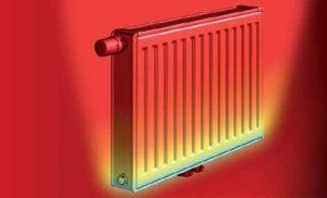 теплоотдача радиатора