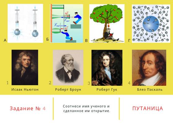 квест по физике. физика вокруг нас для 7 класса. задание 4