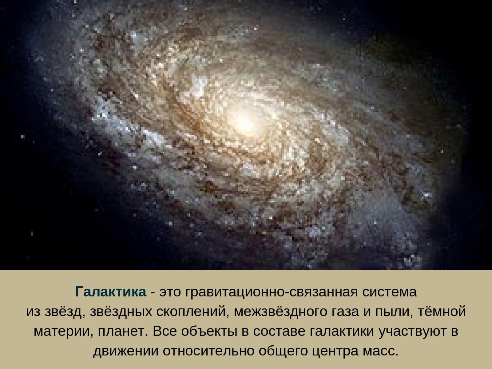 Галактика - это