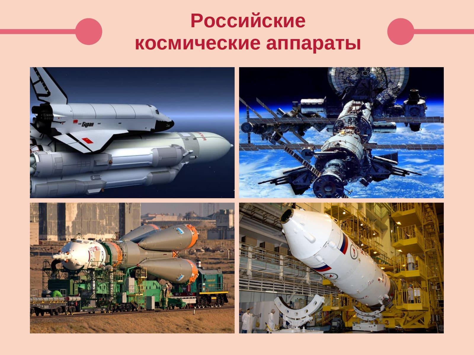 Российские космические аппараты