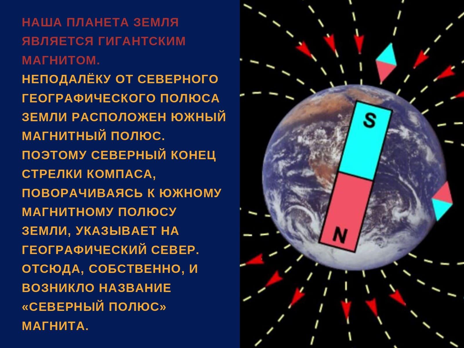 наша планета земля является гигантским магнитом