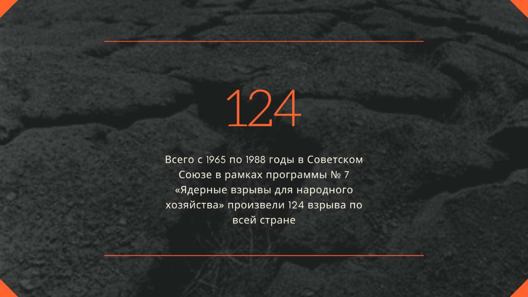 124 взрыва по всей стране с 1965 по 1988 гг