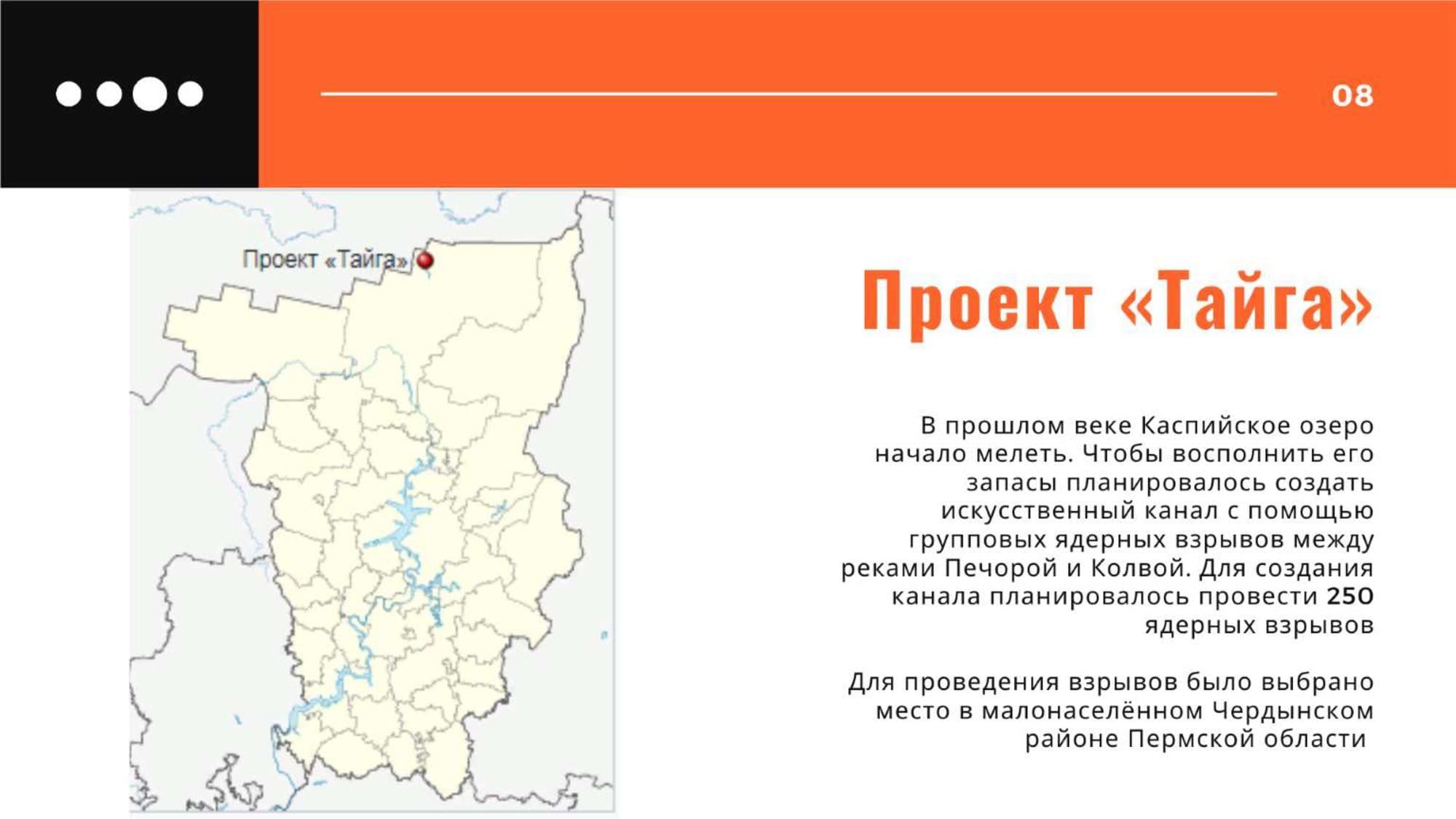 """Проект """"Тайга"""" между реками Печорой и Колвой"""