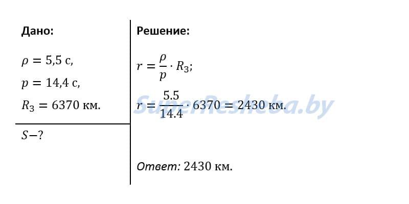 Решение Задачи 2 При наблюдении прохождения Меркурия по диску Солнца